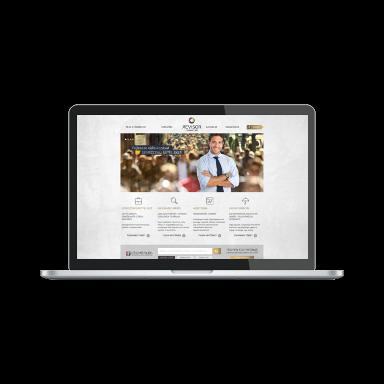 бизнес-справочник скриншот (ноутбук)