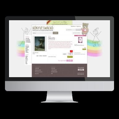 demo webshop képernyőmentés (monitor)